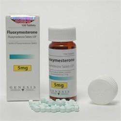 Fluoxymesterone Genesis 100 tabs / 5 mg (Halotestin)