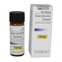 Oxandrolone Genesis 100 tabs / 10 mg