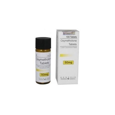 Oxymetholone Tablets Genesis 100 tabs/50 mg