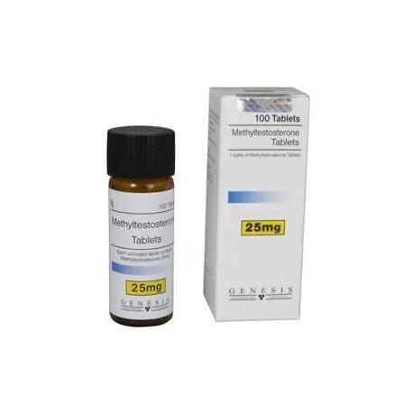 Methyltestosterone Genesis 25 mg/tab (100 pills)